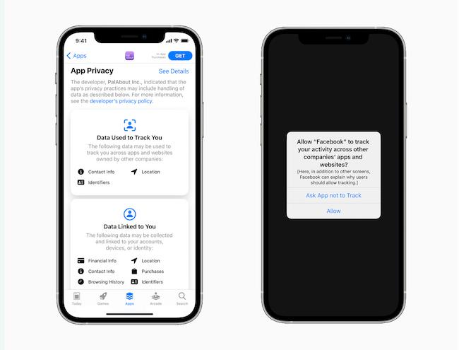 App Privacy-Apple Update iOS 14