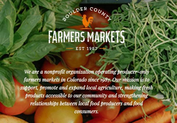 Boulders Farmers Market
