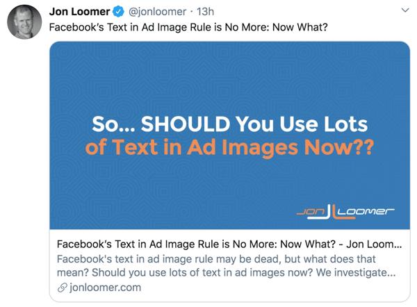 Jon Loomer-Tweet