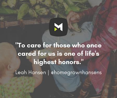 Leah Hansen Quote