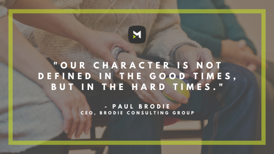 Paul Brodie Quote
