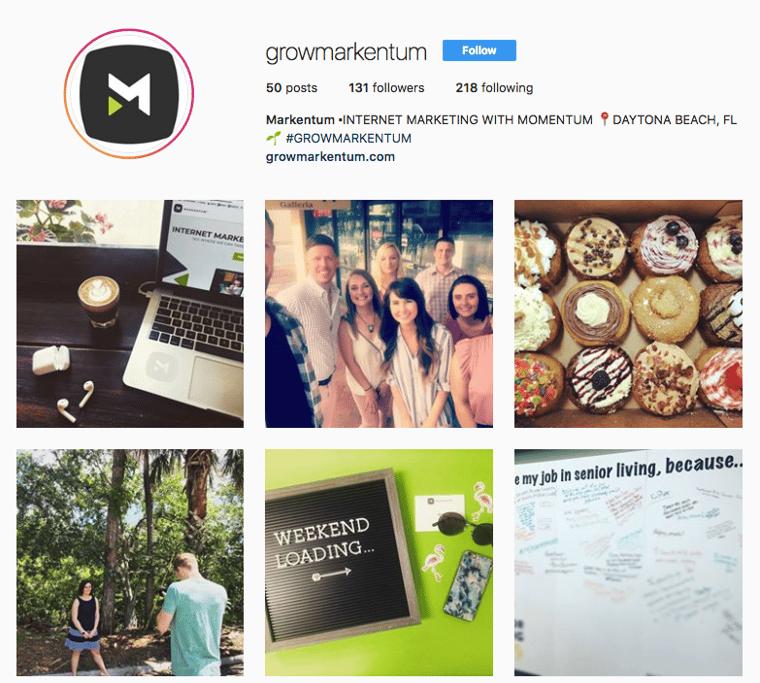 Markentum Instagram Feed