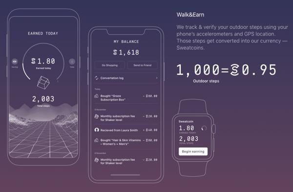 Sweatcoin App_Markentum