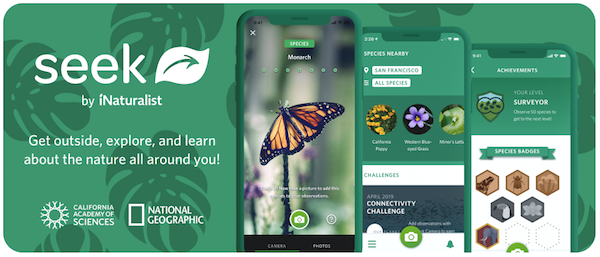 Seek by iNaturalist App Screenshot