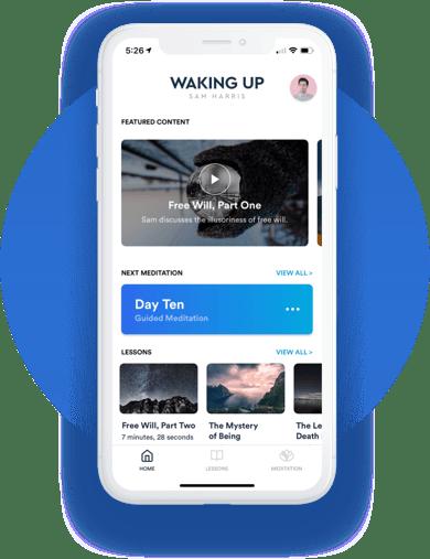 Waking Up with Sam Harris App_Markentum