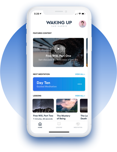 Waking Up with Sam Harris App_Markentum