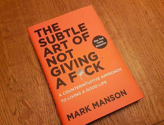 The Subtle Art of Not Giving a F*ck Book Cover_Markentum